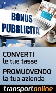 Bonus pubblicità su Transportonline
